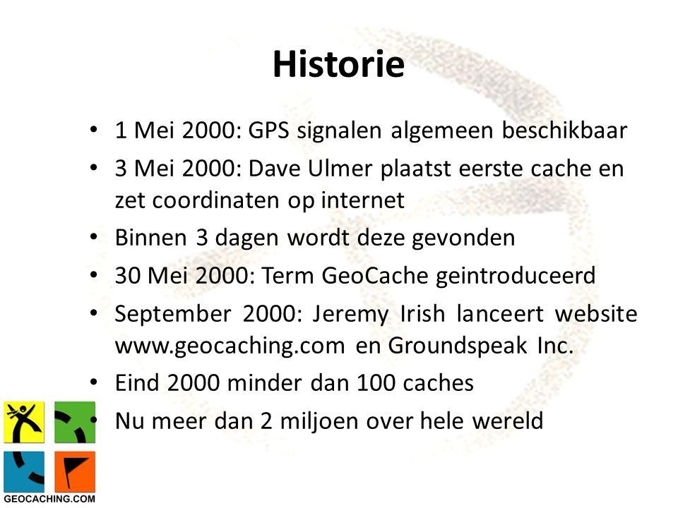 Historie 1 Mei 2000: GPS signalen algemeen beschikbaar