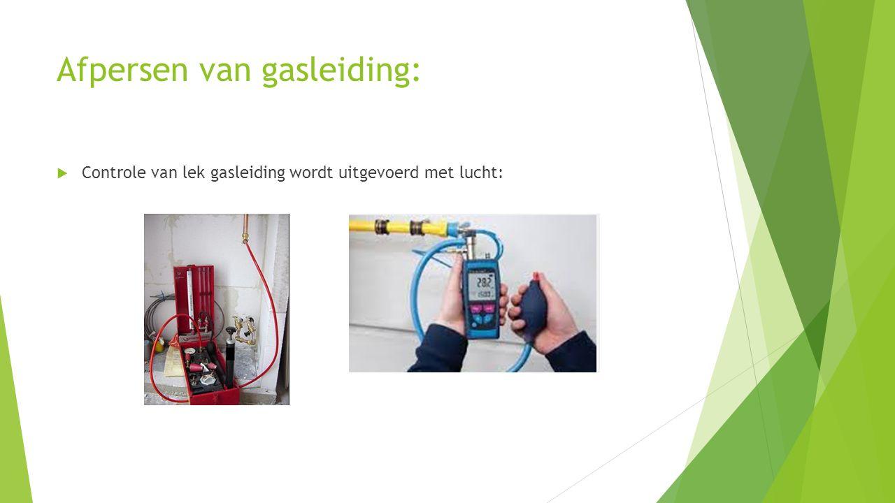 Afpersen van gasleiding: