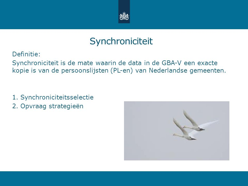Synchroniciteit Definitie: