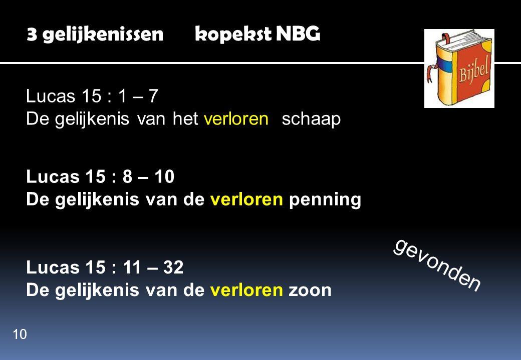3 gelijkenissen kopekst NBG
