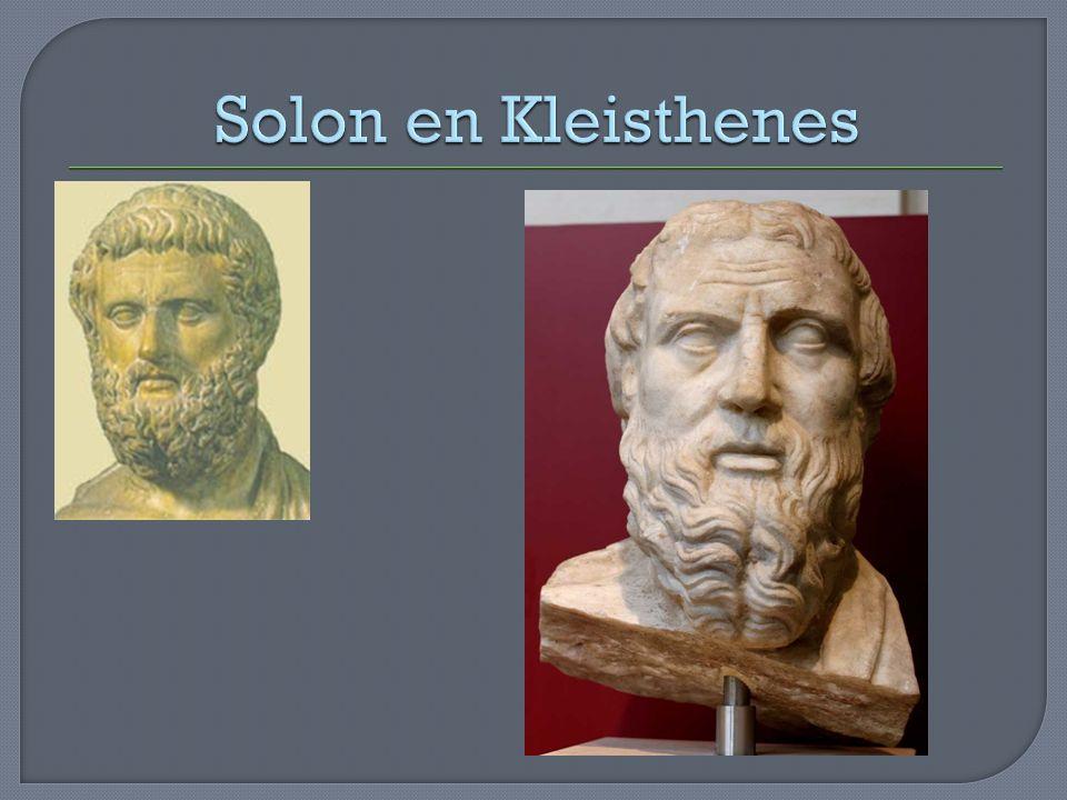 Solon en Kleisthenes