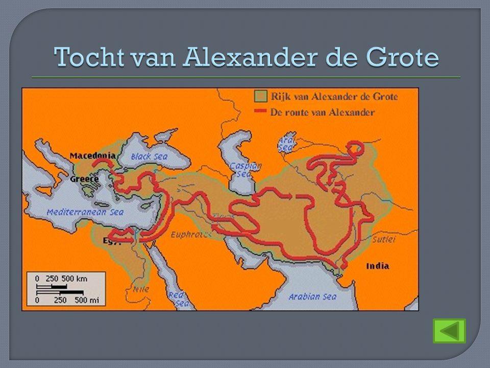 Tocht van Alexander de Grote