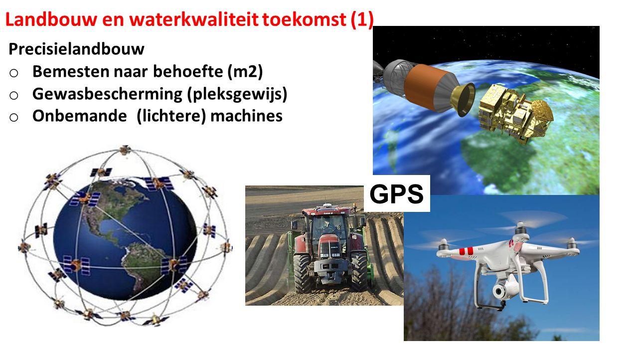 GPS Landbouw en waterkwaliteit toekomst (1) Precisielandbouw