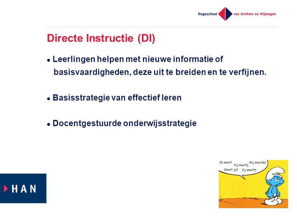 Directe Instructie (DI)