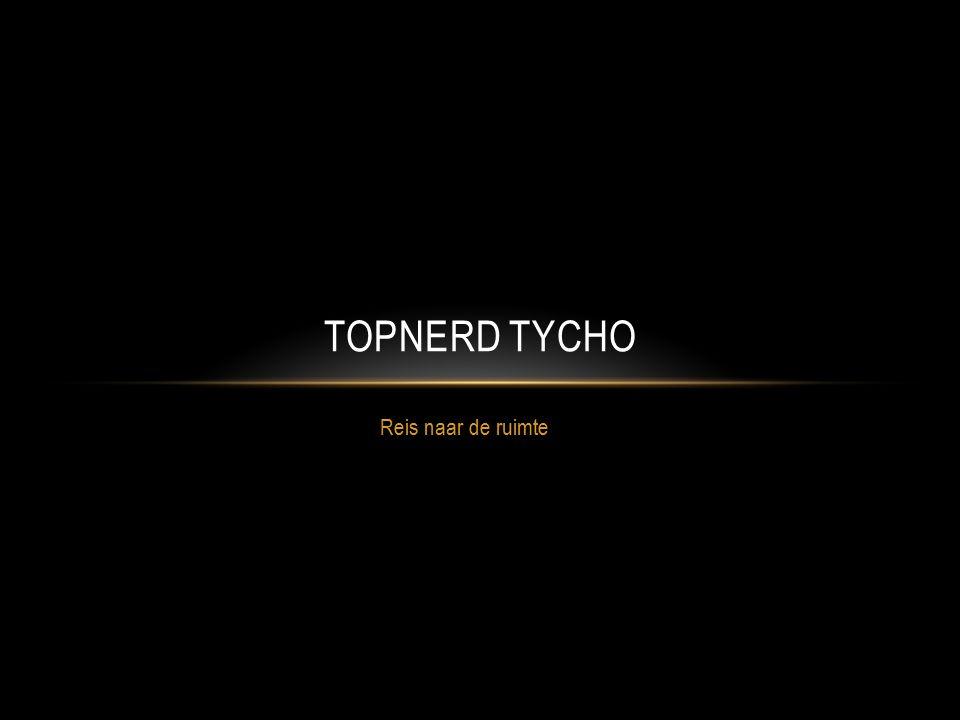Topnerd Tycho Reis naar de ruimte
