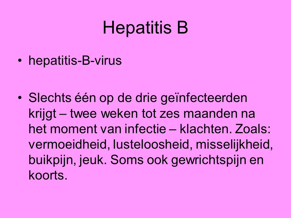 Hepatitis B hepatitis-B-virus