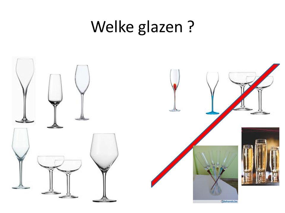Welke glazen