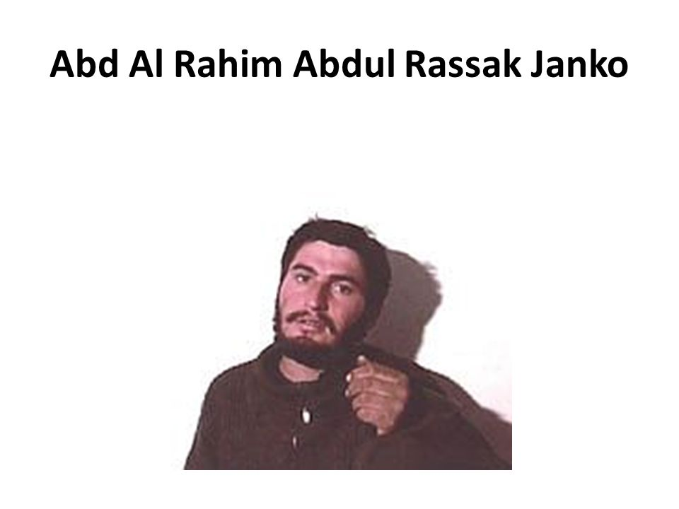 Abd Al Rahim Abdul Rassak Janko