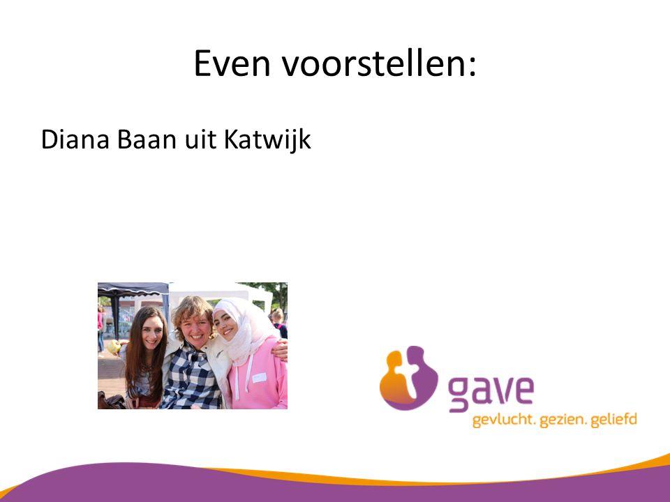 Even voorstellen: Diana Baan uit Katwijk