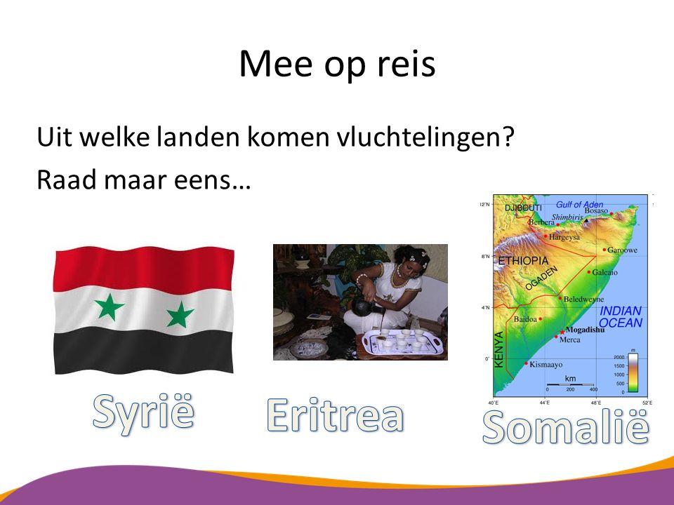 Syrië Eritrea Somalië Mee op reis