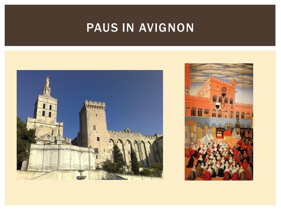 Paus in Avignon