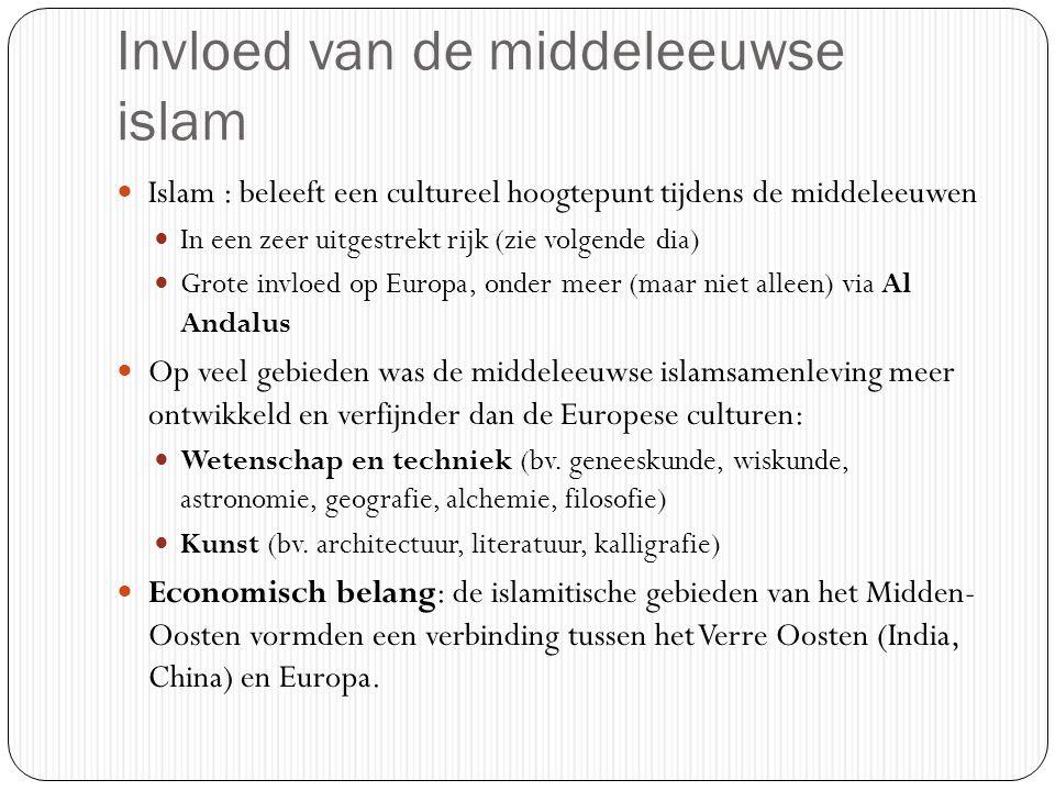 Invloed van de middeleeuwse islam
