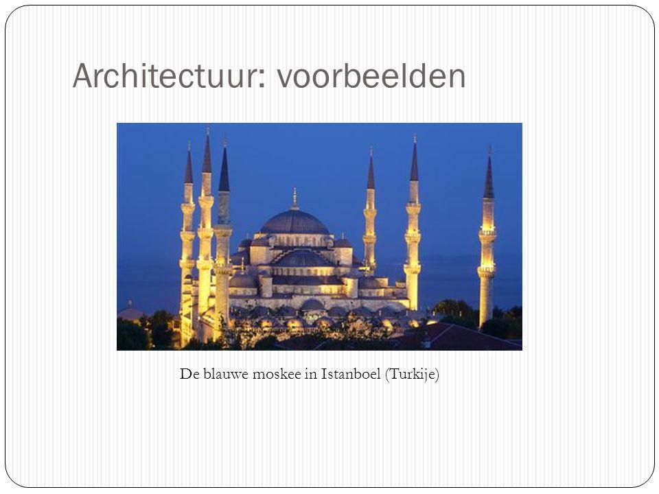 Architectuur: voorbeelden