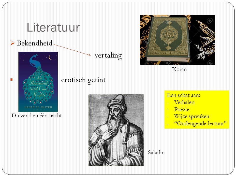 Literatuur Bekendheid vertaling erotisch getint Koran Een schat aan: