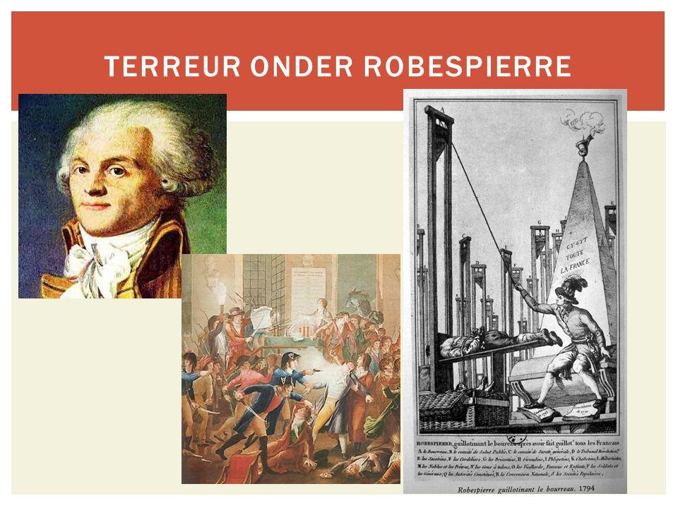 Terreur onder Robespierre