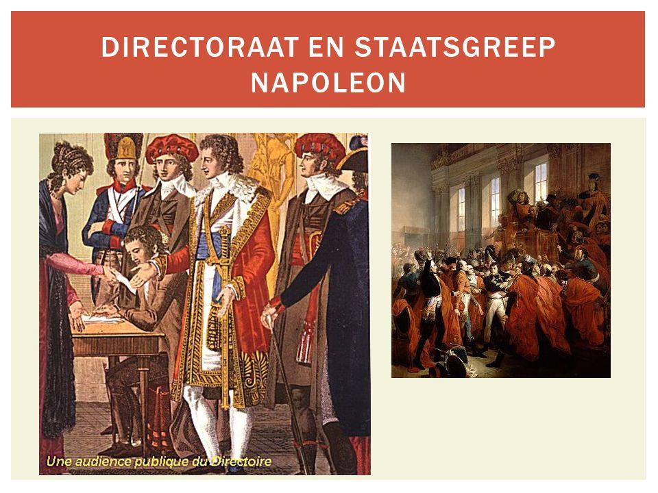 Directoraat en staatsgreep Napoleon