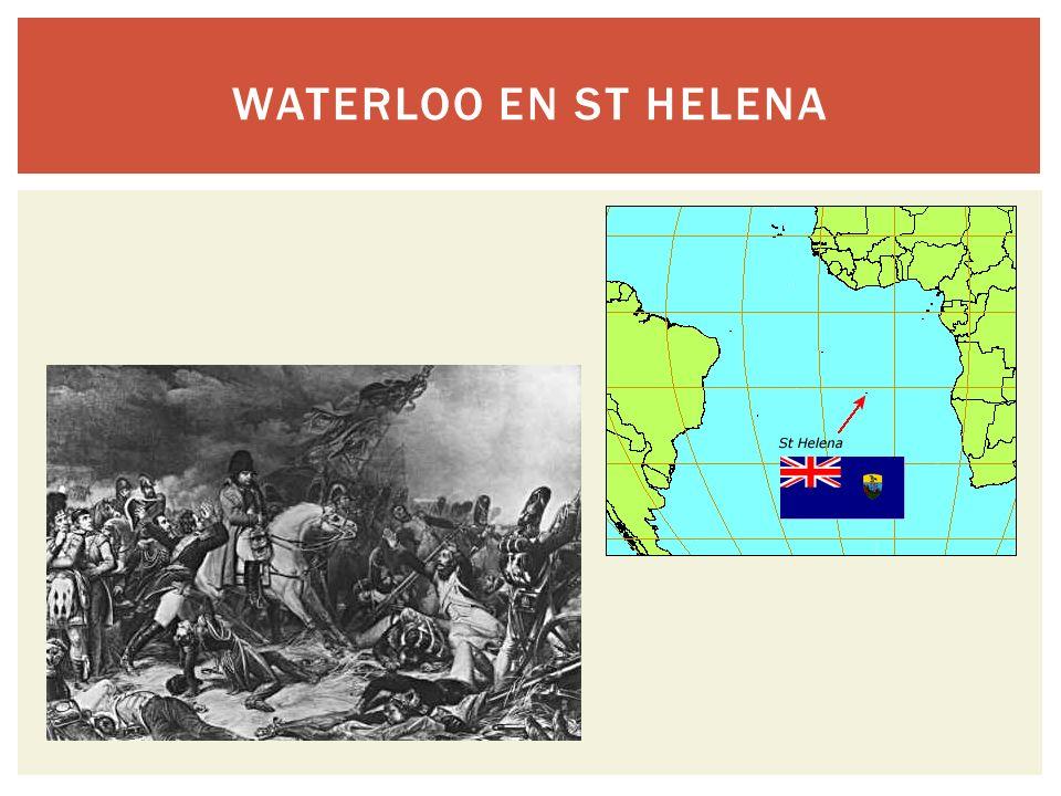 Waterloo en St Helena