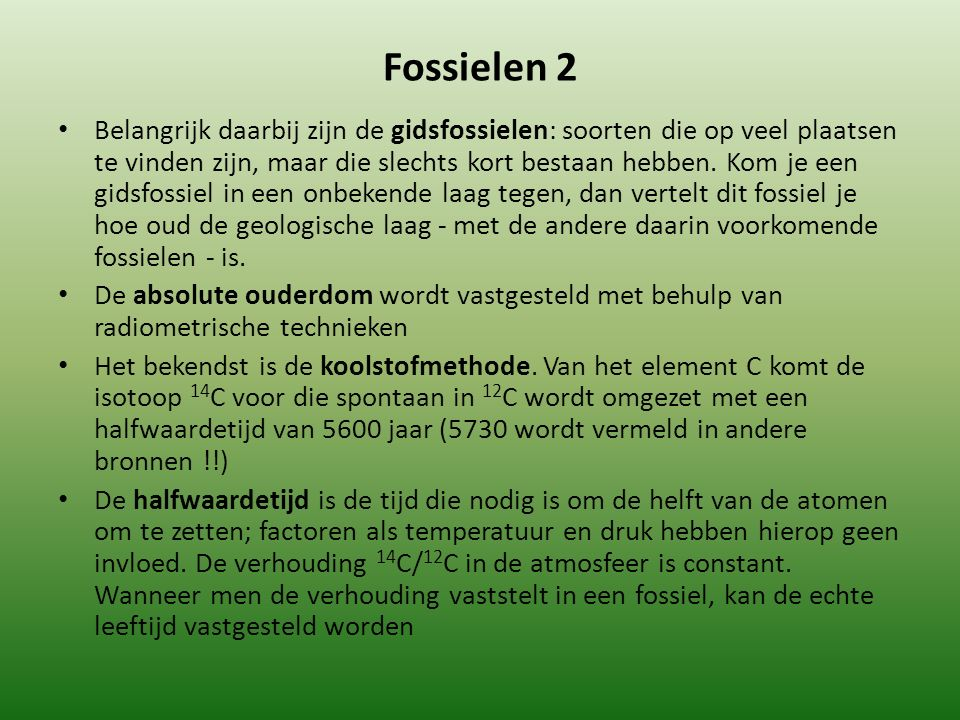 Fossielen 2