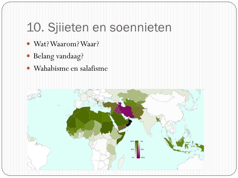 10. Sjiieten en soennieten