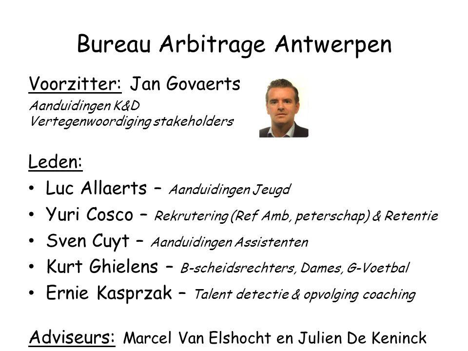 Bureau Arbitrage Antwerpen