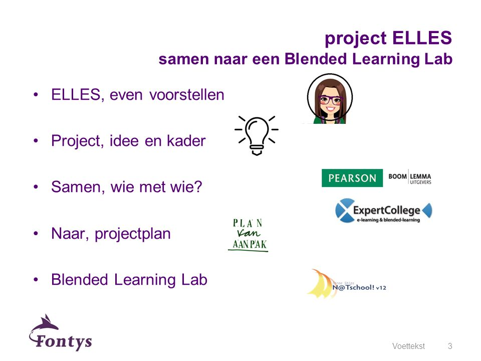 project ELLES samen naar een Blended Learning Lab