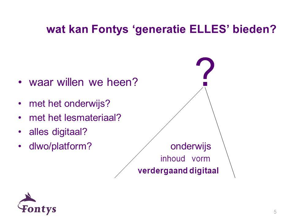 wat kan Fontys 'generatie ELLES' bieden