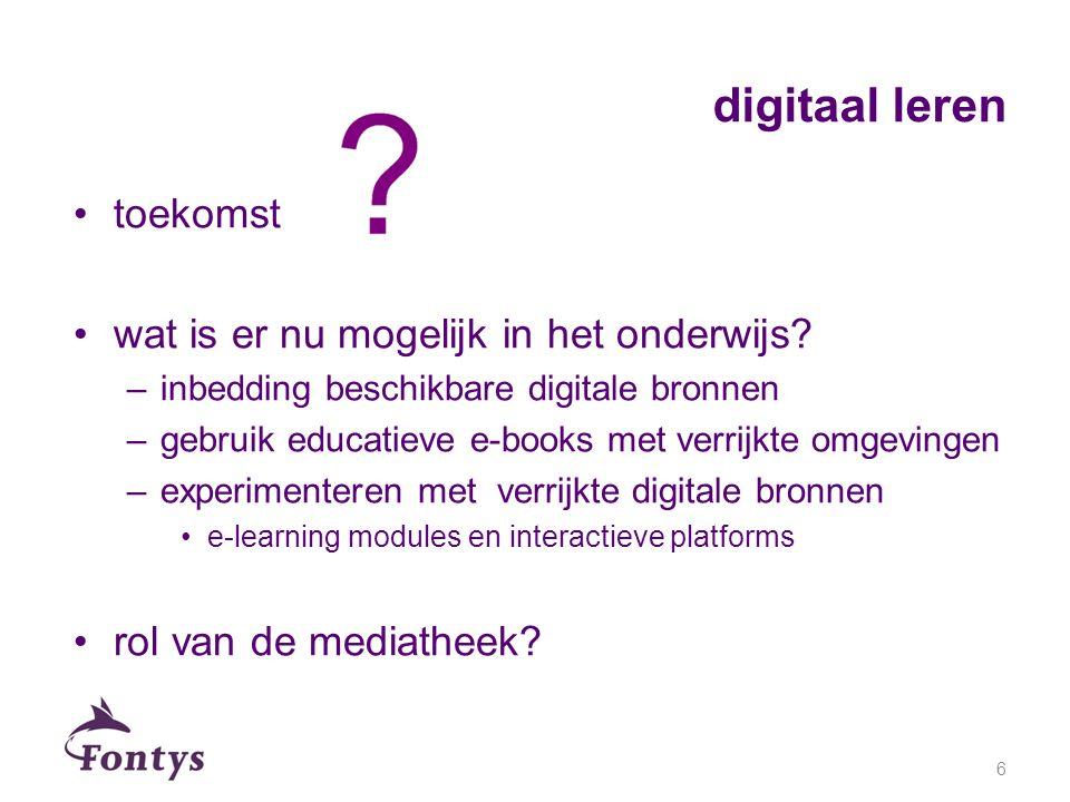 digitaal leren toekomst wat is er nu mogelijk in het onderwijs