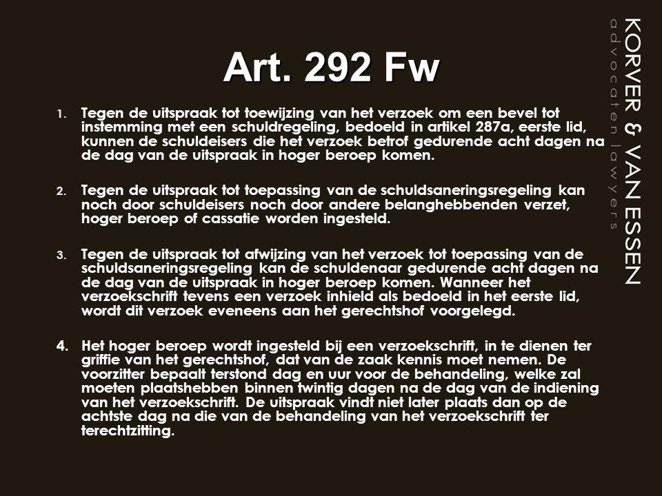 Art. 292 Fw
