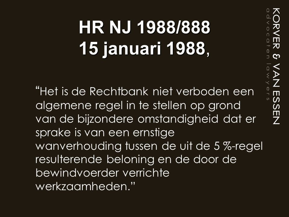 HR NJ 1988/888 15 januari 1988,