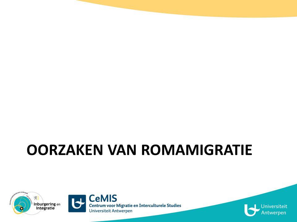Oorzaken van Romamigratie