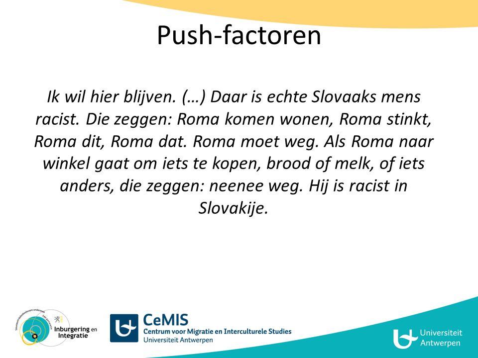 Push-factoren