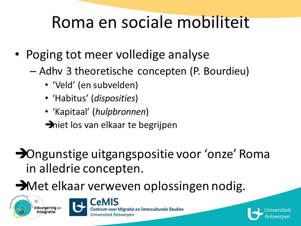 Roma en sociale mobiliteit