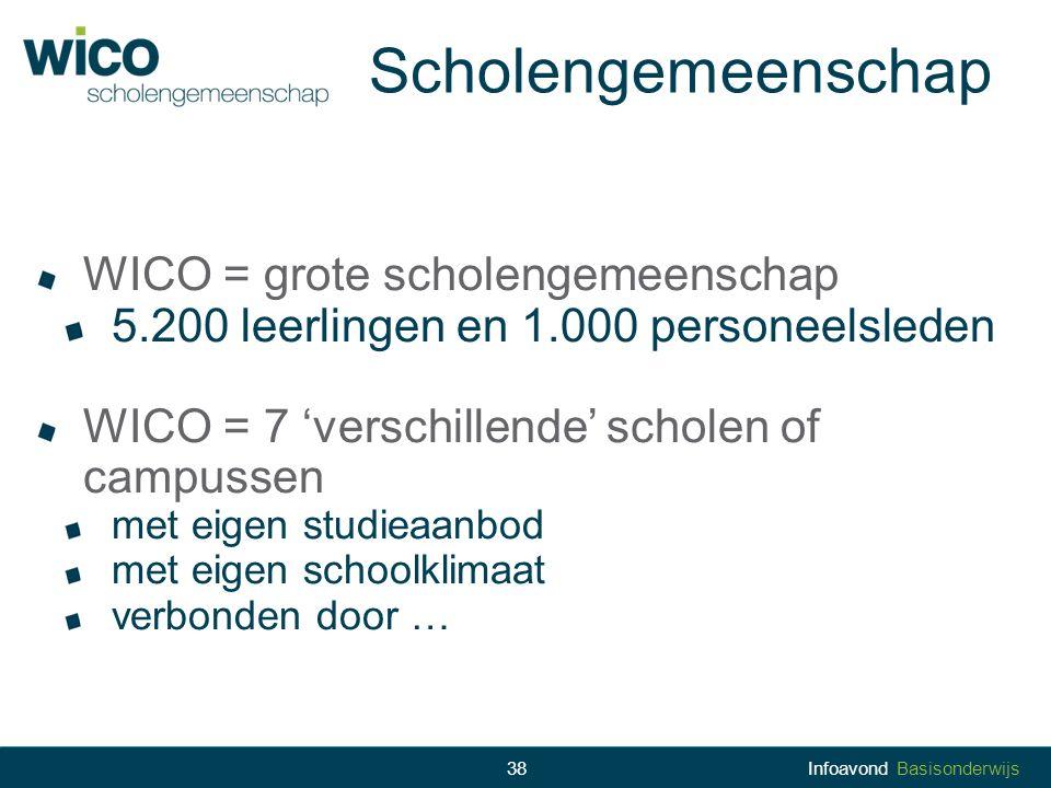 Scholengemeenschap WICO = grote scholengemeenschap