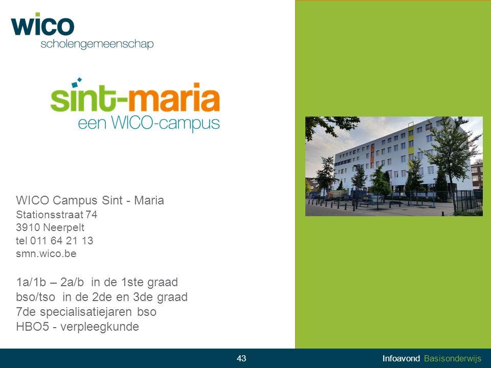 WICO Campus Sint - Maria