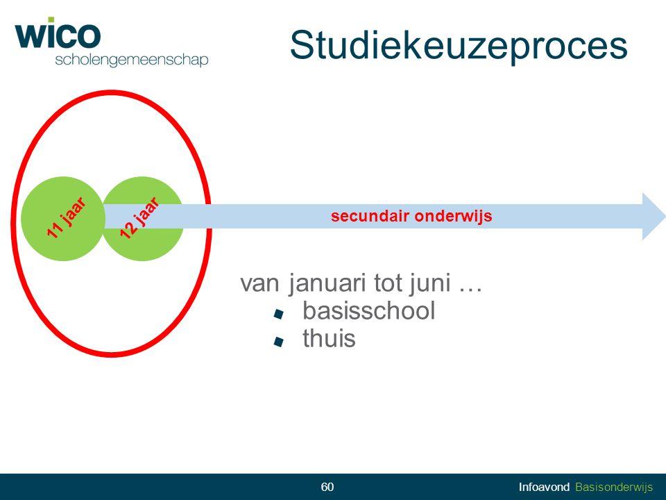 Studiekeuzeproces van januari tot juni … basisschool thuis