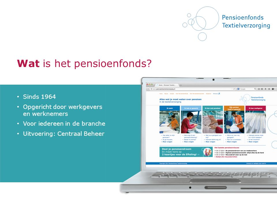 Wat is het pensioenfonds