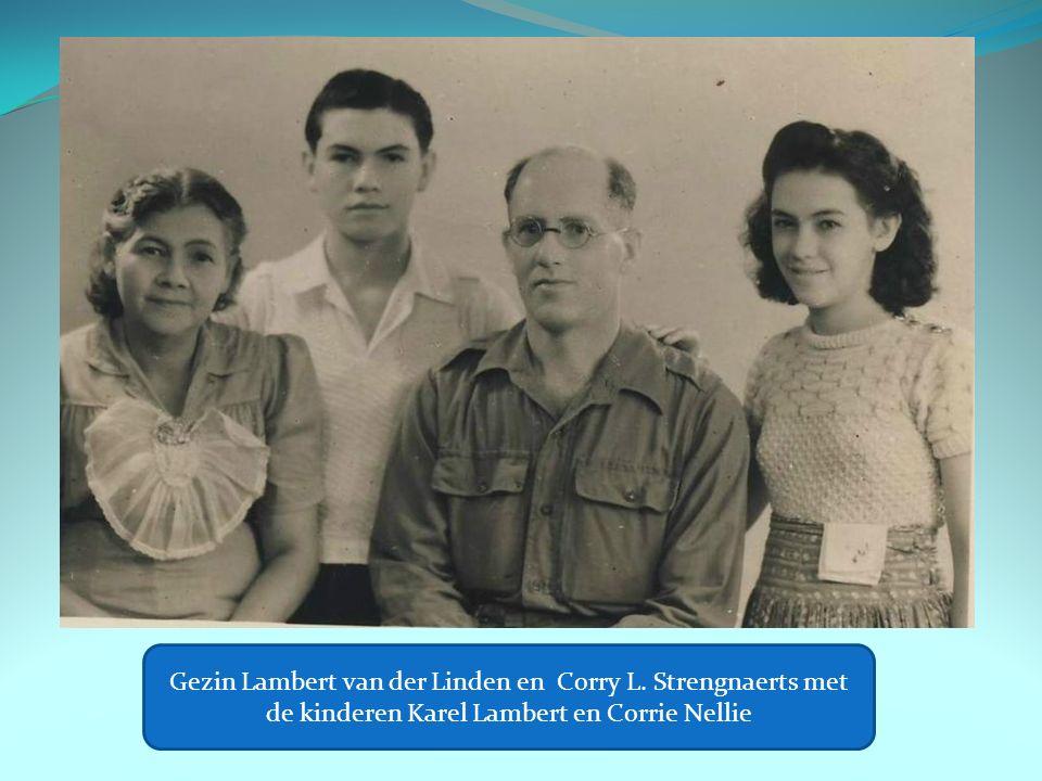 Gezin Lambert van der Linden en Corry L