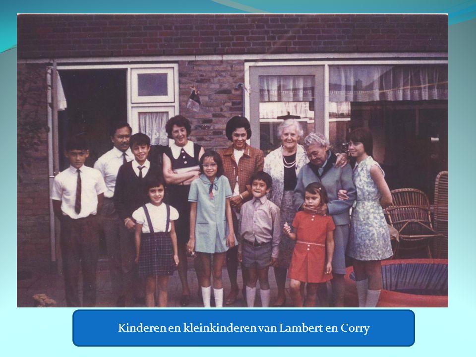 Kinderen en kleinkinderen van Lambert en Corry