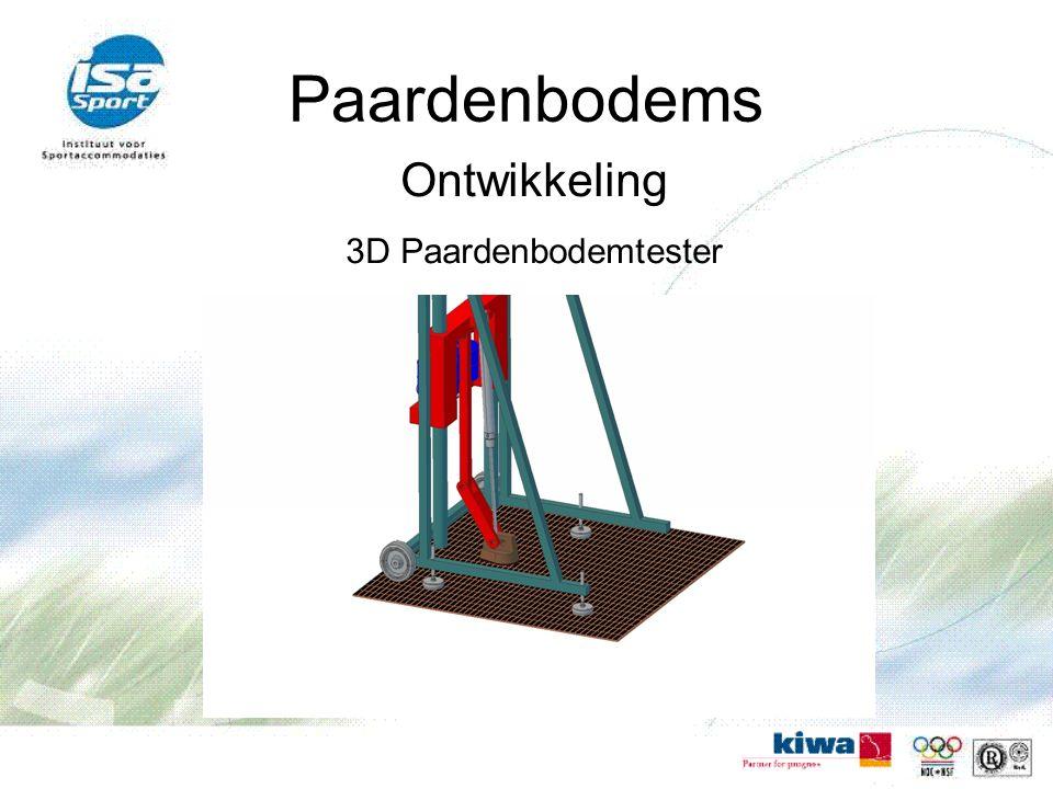 Paardenbodems Ontwikkeling 3D Paardenbodemtester