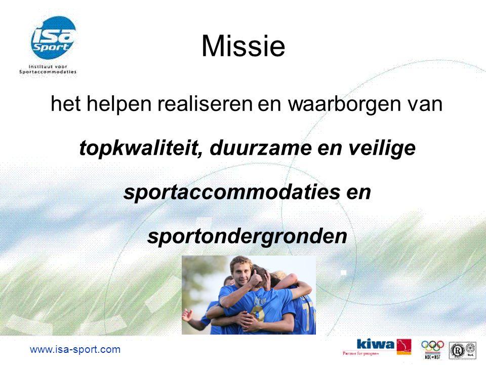 topkwaliteit, duurzame en veilige sportaccommodaties en