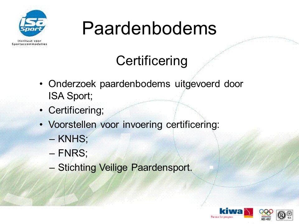 Paardenbodems Certificering