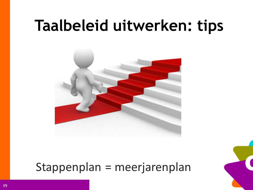 Taalbeleid uitwerken: tips