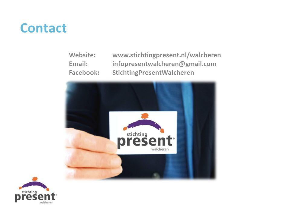 Contact Website: www.stichtingpresent.nl/walcheren