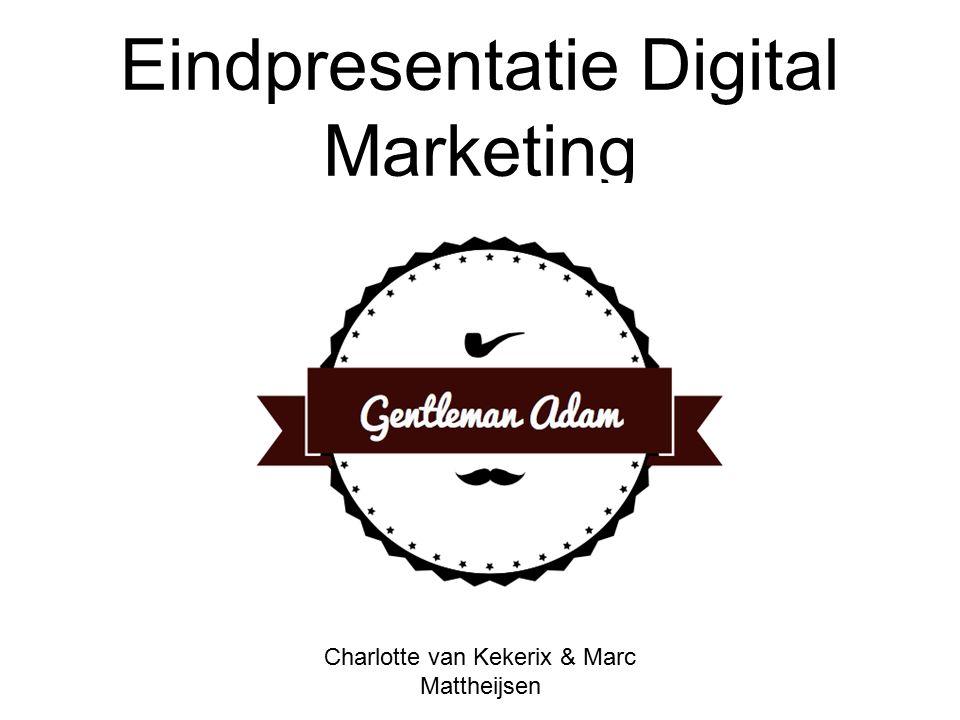 Eindpresentatie Digital Marketing