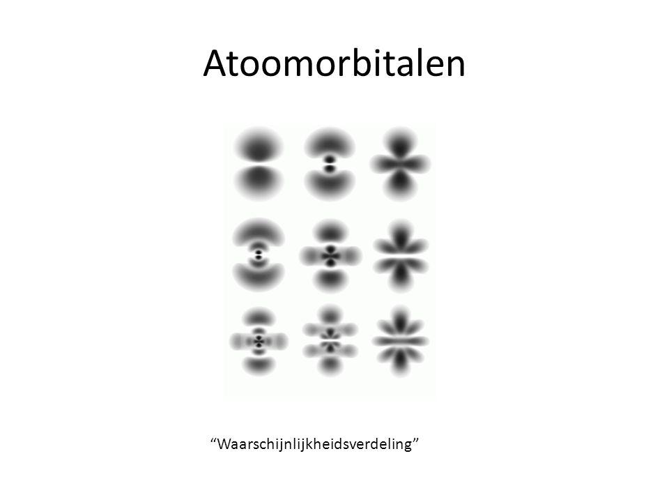 Atoomorbitalen Waarschijnlijkheidsverdeling