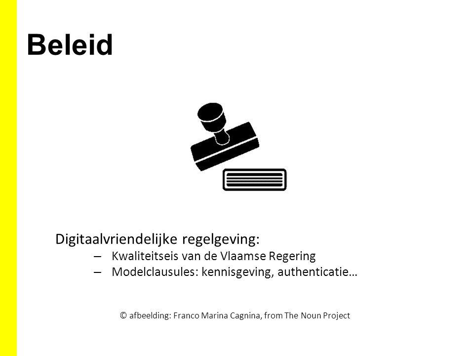 Beleid Digitaalvriendelijke regelgeving:
