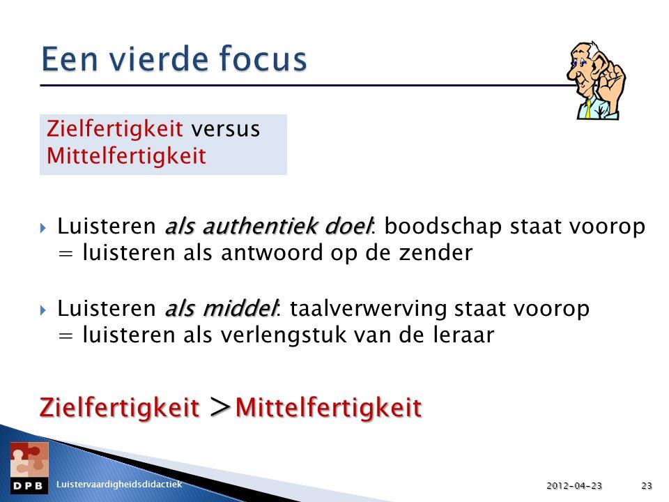 Een vierde focus Zielfertigkeit >Mittelfertigkeit
