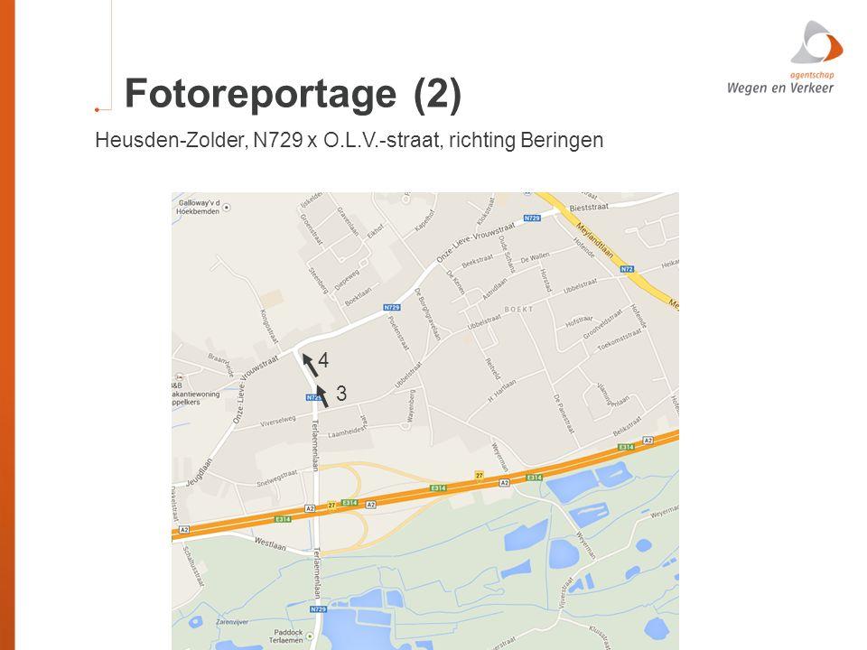 Fotoreportage (2) Heusden-Zolder, N729 x O.L.V.-straat, richting Beringen 4 3