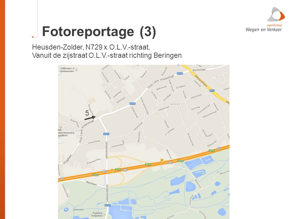 Fotoreportage (3) Heusden-Zolder, N729 x O.L.V.-straat,