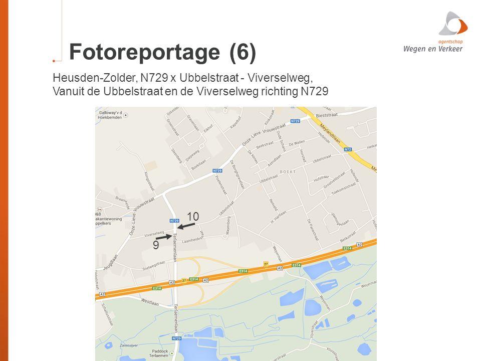 Fotoreportage (6) Heusden-Zolder, N729 x Ubbelstraat - Viverselweg,